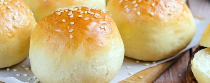 Домашние булочки для гамбургеров