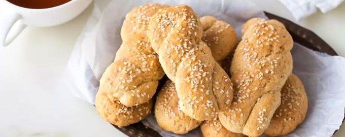 Кулуракья — греческое масляное печенье с кунжутом