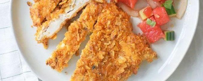 Куриная грудка в чипсах