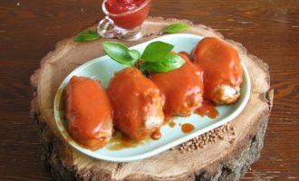 Рецепт котлет гречаников в томатном соусе