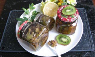 Рецепт варенья из киви с маком