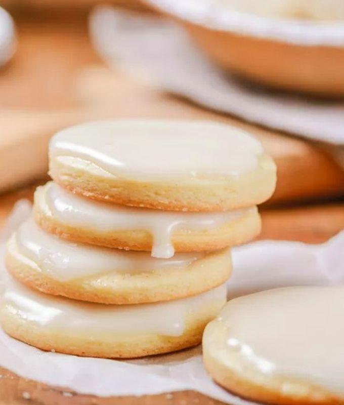 Сахарное печенье с глазурью