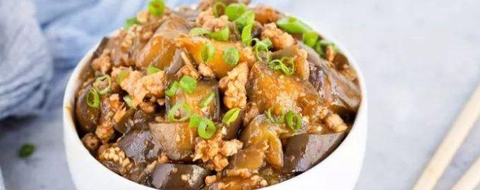Сычуаньский баклажан в чесночном соусе