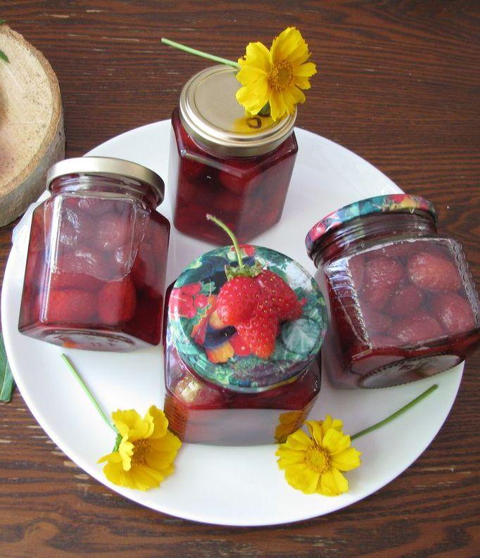 Варенье из клубники с мятой