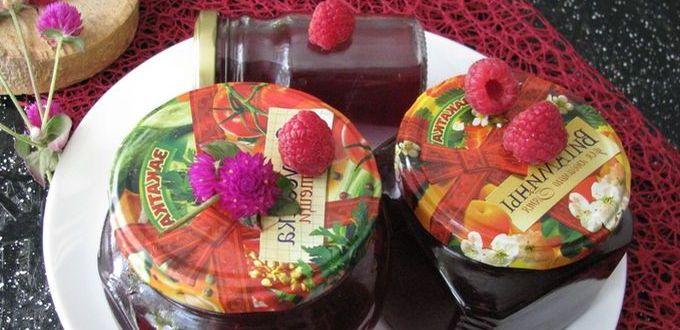 Варенье из малины с агар-агаром