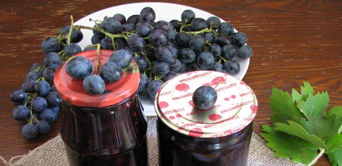 Варенье из винограда с корицей